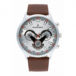 RUMBLER 48MM SILVER /BROWN...