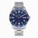 TAGRAD ALL SS 44MM BLUE DIAL SILVER BAND