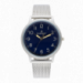 ANTONIE 42MM BLUE DIAL SILVER SS MESH