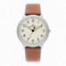ANTONIE 42MM BEIGE DIAL BROWN LEATHER ST