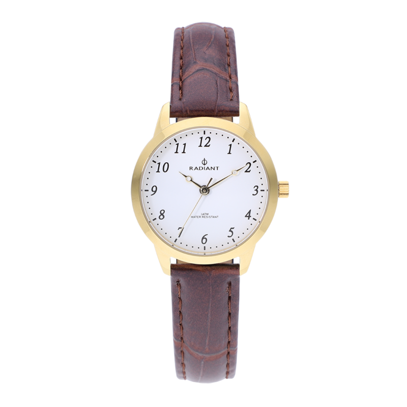 CLASIC ALL SS 30MM WHITE / BROWN LEAT ST