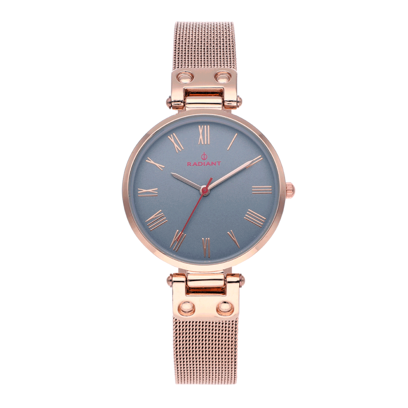 JULIANA 34MM GREY DIAL IPRG SS MESH