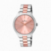 COVER 40MM PINK DIAL 2TONE IPRG SS BAND